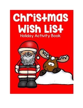 Christmas Wish List Activity Book