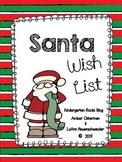 Christmas Wish List Scroll