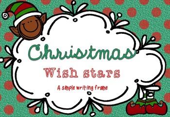 Christmas Wish Writing Frame