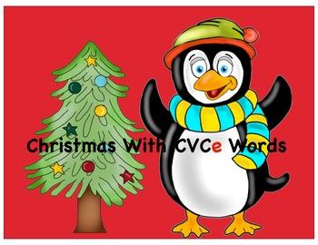 Christmas With CVCe Words