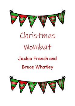 Christmas Wombat Activities