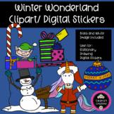 Christmas Wonderland Clip Art