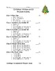 Christmas Wonderopolis Project
