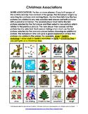 Christmas Word Associations