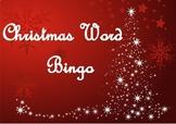 Christmas Word Bingo