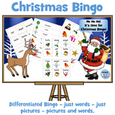 Christmas Word Bingo