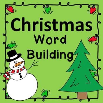 Christmas Word Building