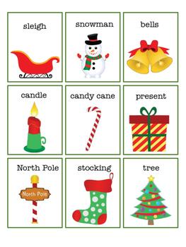 Christmas Word Describing