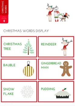 Christmas Word Display