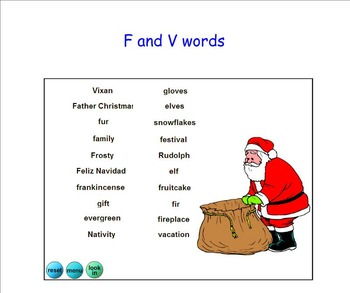 Christmas Word Drop