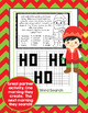 Word Work Christmas Activities Flip Book