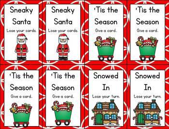 Christmas Word Games {CVC Words}