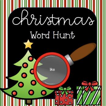 Christmas Word Hunt