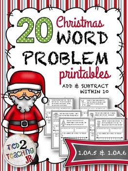 Christmas Word Problem