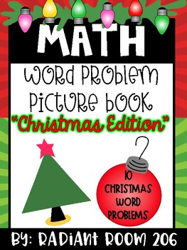 Christmas Word Problem Picture Book