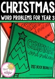 25 Christmas Word Problems | Year 3