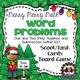 Christmas Math Game - One and Two Step Word Problems