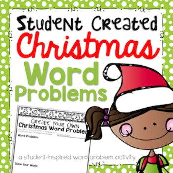 Christmas Word Problems {FREEBIE!}
