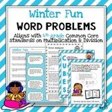 Winter Word Problems: 4th Grade