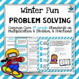 Winter Word Problems: 5th Grade