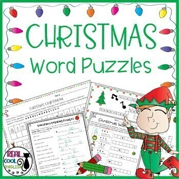 Christmas Word Puzzle Pack