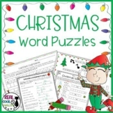 Christmas Word Puzzle Activities Pack