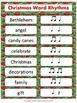 Christmas Word Rhythms
