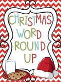 Christmas Word Round Up