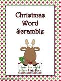 Christmas Word Scrambles
