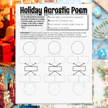 Christmas Activity: Word Search