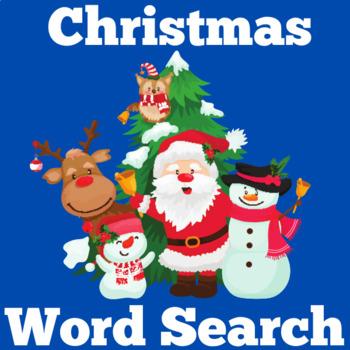 Christmas Activity | Christmas Word Search