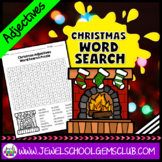 Christmas Word Search (Adjectives)