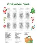 """""""Christmas Word Search"""" - Christmas Words – Holiday Fun! ("""