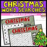 Christmas Word Search DIGITAL