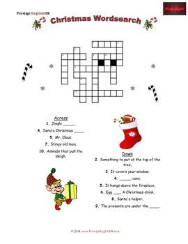 Christmas Crossword (Easy)