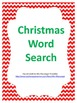 Christmas Word Search Fun!