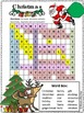 Christmas Word Search  * HARD