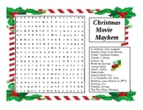 Christmas Word Search Movie Magic