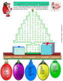 Christmas Word Search Puzzle for fun in all classes