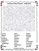 Christmas Word Search & Writing Activity