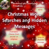 Christmas Word Searches and Hidden Messages (Religious and Secular)