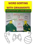 Christmas Word Sort / Word Family Craftivity FREEBIE