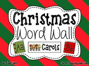 Christmas Word Wall