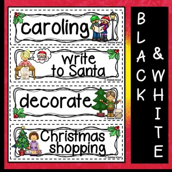 Christmas (December) Word Wall