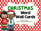 Christmas Word Wall Cards