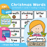 Christmas Word Wall Cards - Reading / Writing Resource
