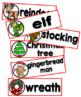 Christmas Word Wall Cards Set