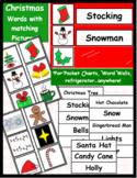 Christmas Word Wall Pack