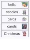 Christmas Word Walls