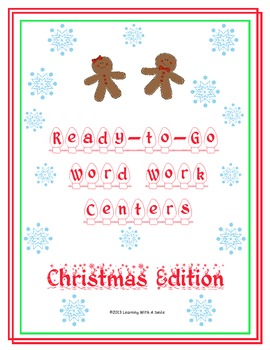 Christmas Centers ~ Effective and Stress-Free Literacy Center Ideas